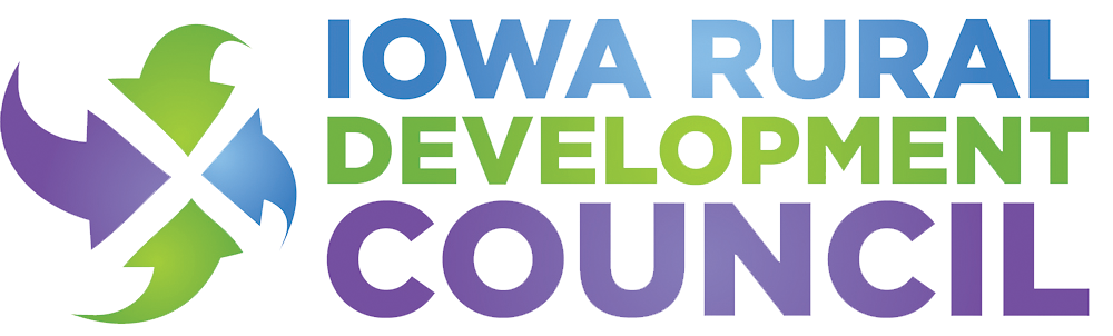 Iowa Rural Development CouncilIowa Rural Development Council logo